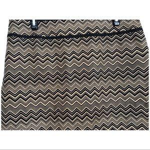 LOFT Skirts - Ann Taylor LOFT Chevron Skirt